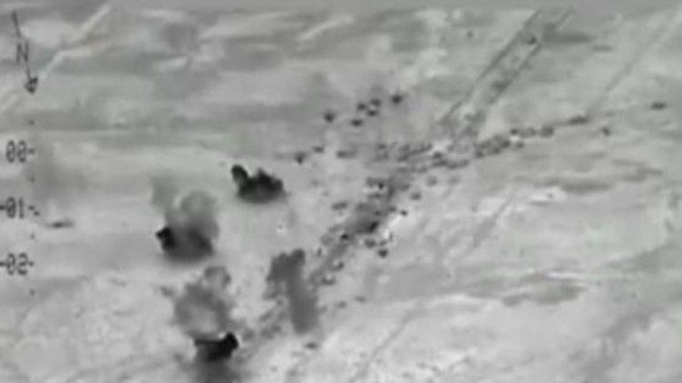 Над 250 бойци на Ислямска държава убити при въздушни удари в Ирак (видео)
