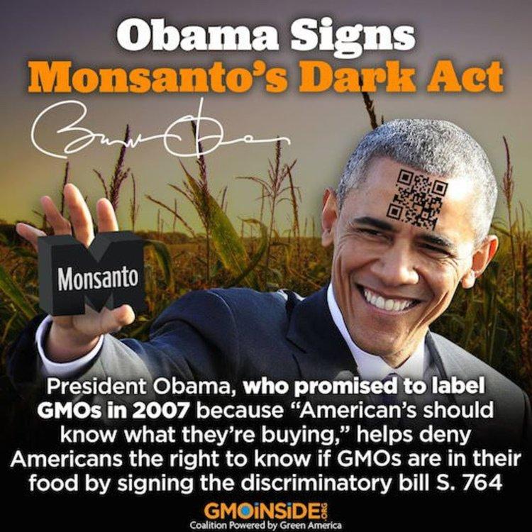 Органик общността срещу закона на Обама за ГМО на етикетите (видео)