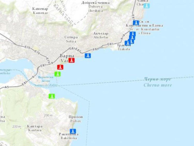 Европейската агенция за околна среда: водите около Варна и Лозенец не стават за къпане