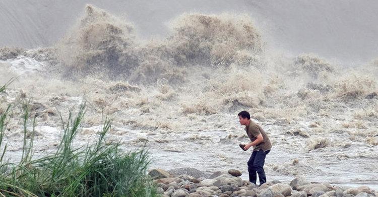 Тайфун удари Япония