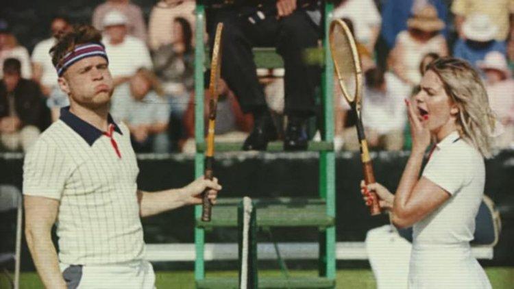 Е, не... Най-шантавият тенис - Оли Мърс срещу Луиза Джонсън (видео)