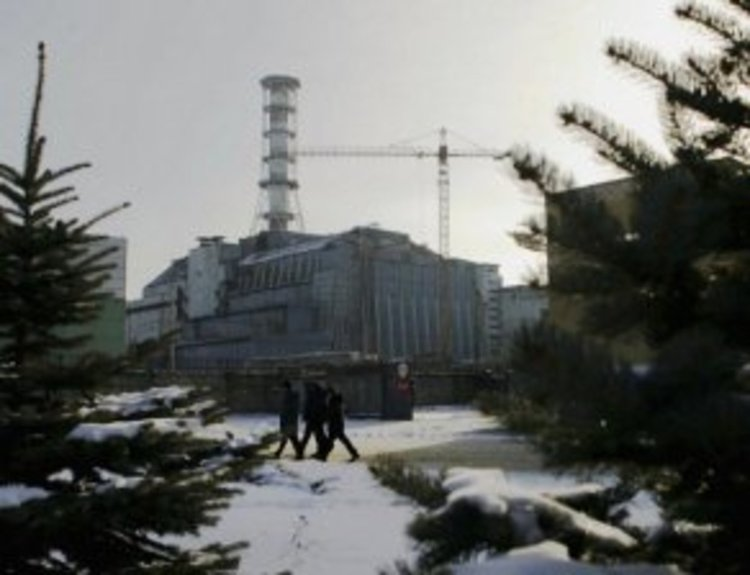 Повишено ниво на радиация над Чернобил