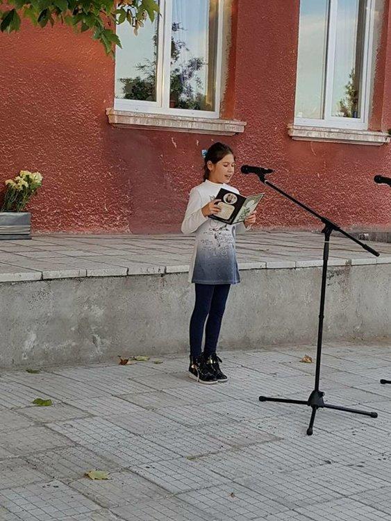 Откриха паметна плоча на поета Кръстьо Кръстев в Длъгнево