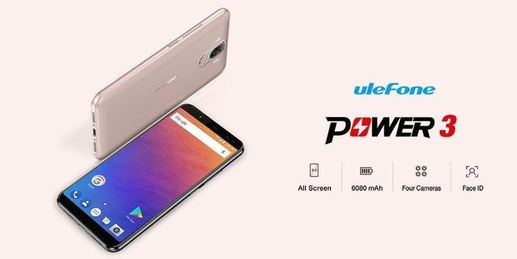 Ulefone Power 3 – смартфон с удивителна 6080 мАч батерия