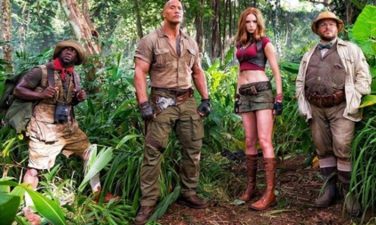 """Джуманджи: Добре дошли в джунглата"" отнесе джедаите"