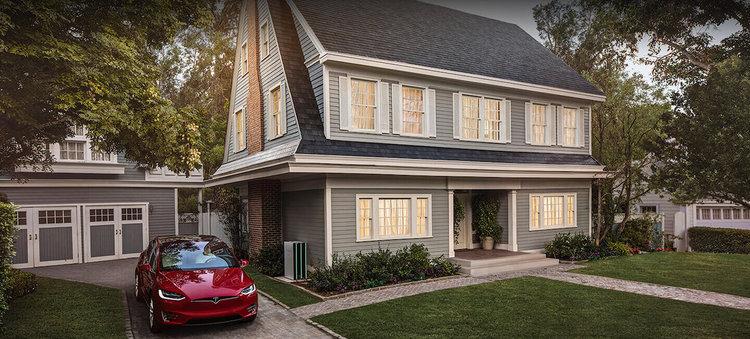 Слънчевите керемиди Solar Roof на Tesla са в серийно производство