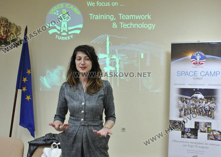 д-р Райжекова,  разказа в родния си град Хасково за предизвикателствата в Space Camp