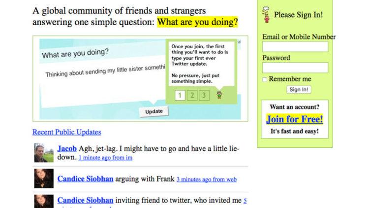 Как изглеждаха социалните мрежи в началото