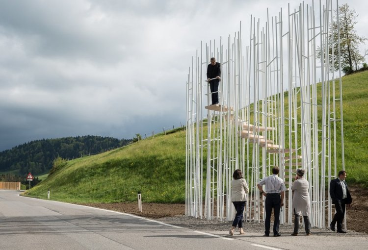 Bus: Stop в Крумбах, Австрия