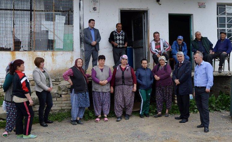 Спонтанна среща с ръководството на Община Черноочене в село Водач