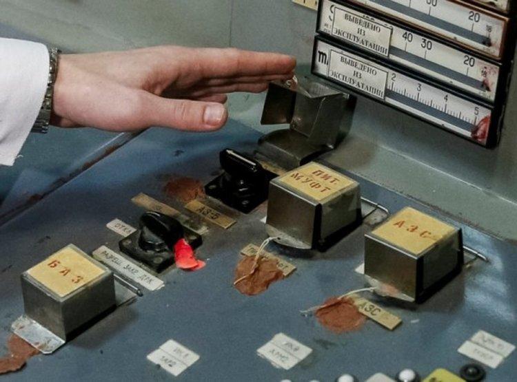 Контролният пулт в трети реактор. Снимка: Reuters