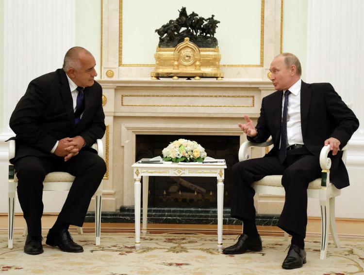 Западните Балкани, борбата с тероризма и Сирия акценти в разговора Борисов – Путин