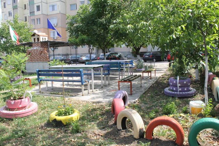 5 бона дава кметството за разкрасяване на терените пред блоковете