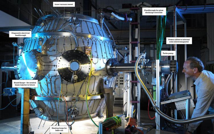 По-горещо от центъра на Слънцето: Малък реактор за термоядрен синтез достигна 15 млн. градуса (видео)