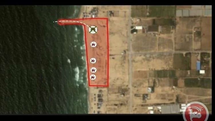 Израел унищожи подводен тунел на Хамас