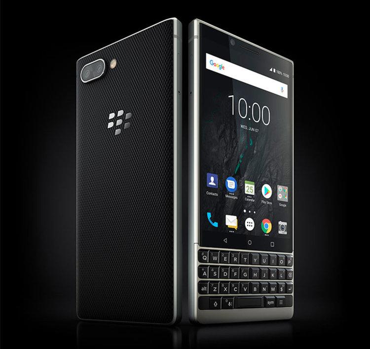 BlackBerry KEY2 с физическа клавиатура (видео)