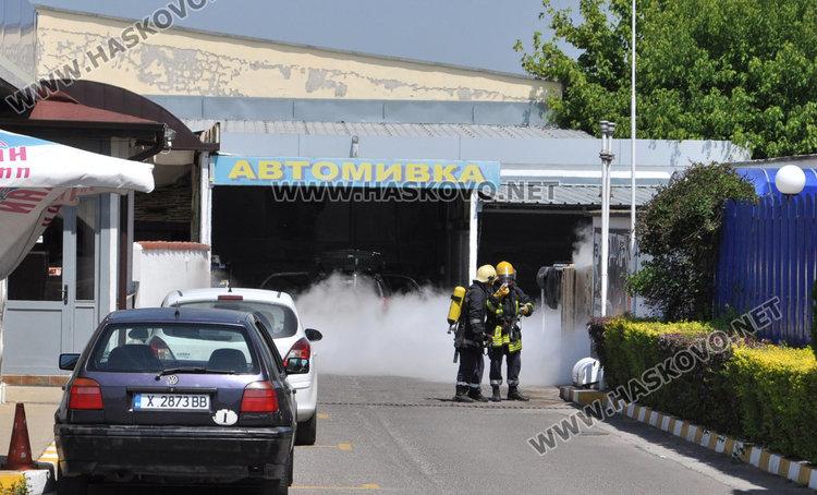 Изтичане на газ от бензиностанция вдигна на крак пожарна и полиция