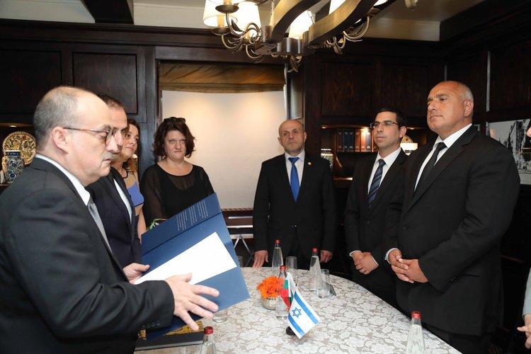 Премиерът Борисов се срещна с президента на Световния еврейски комитет Роналд Лаудер