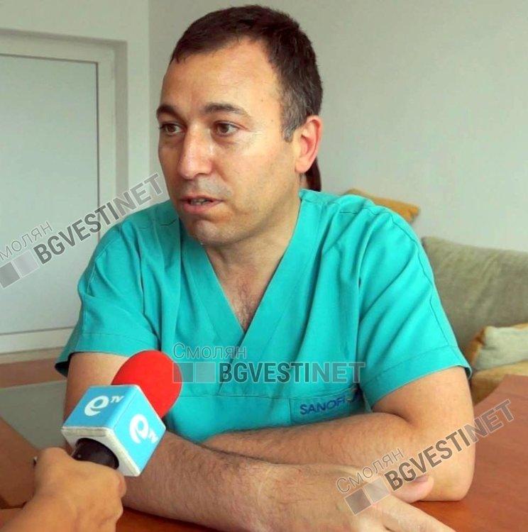Д-р Николай Илиев напусна най-голямата болница в страната, за да се върне в родния Смолян