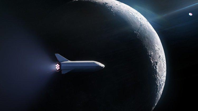 SpaceX избра първия космически турист за полета до Луната