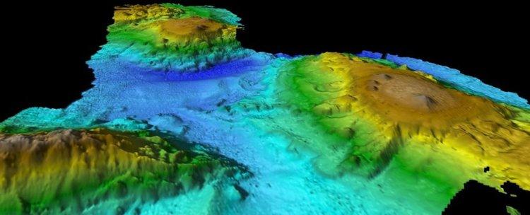 Изгубен свят от подводни вулкани открит в Тихия океан