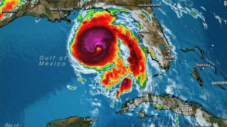 Ураганът Майкъл достигна Флорида