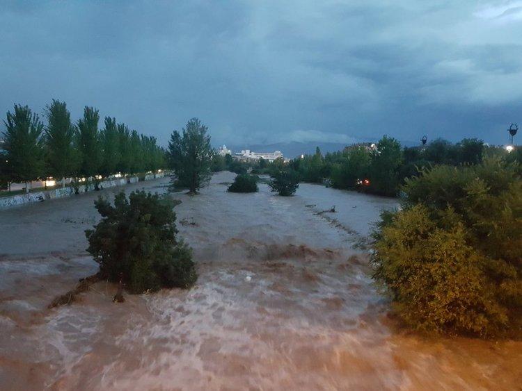 Потоп в северна Испания