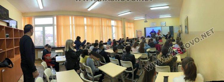"""Комисар Вълчев в ОУ """"Пенчо Славейков"""": Димитровград е застрашен от наводнения"""
