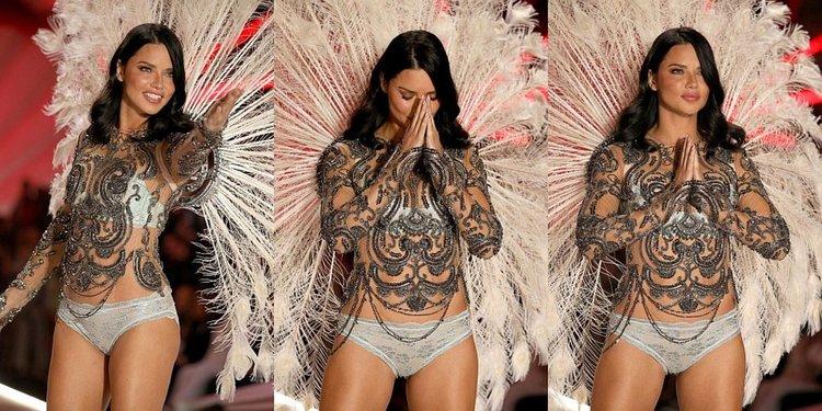 Адриана Лима се сбогува с ангелските си крила и Victoria's Secret