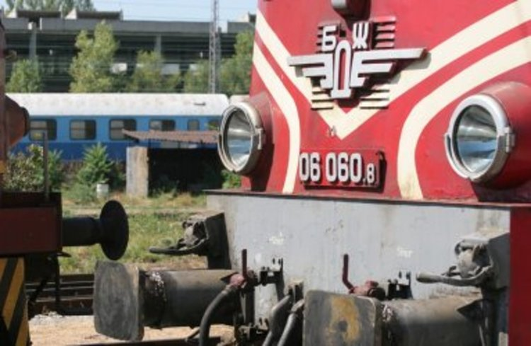 Дерайлирал влак в Кресненското дефиле