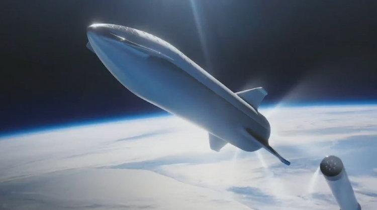 Мъск смени BFR със Starship