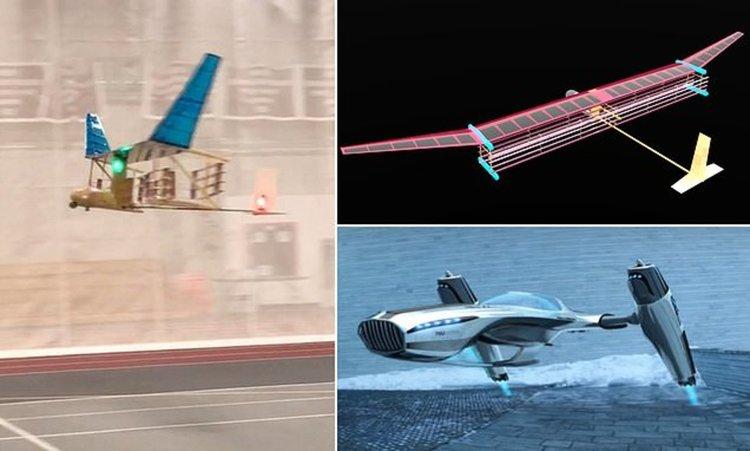 Самолет лети на йонен вятър, без движещи се части (видео)