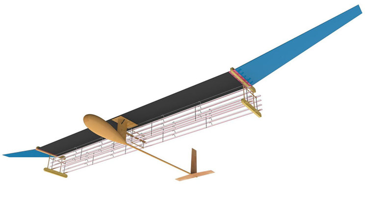 Полетя първият самолет без подвижни части