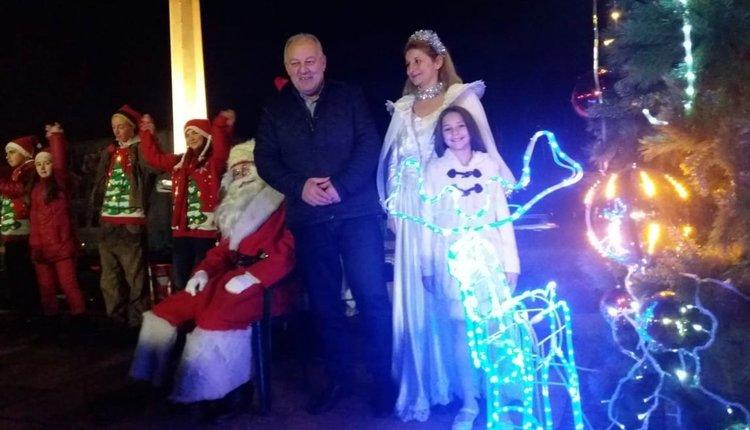 Дядо Коледа пристигна в Смолян с електромобил