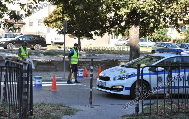 Съставиха два акта на кмета за пешеходните пътеки в Хасково