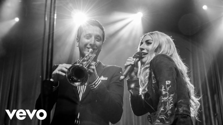 Лейди Гага и тромпет (аудио)
