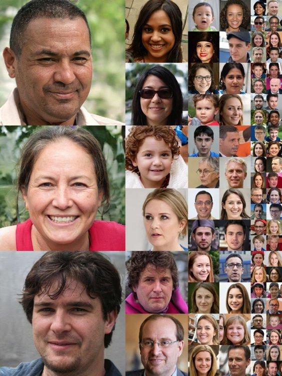 Невронна мрежа генерира реални снимки на несъществуващи хора