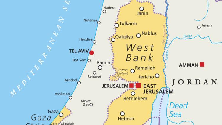 Новата палестинска държава включва Ивицата Газа и част от Западния бряг?