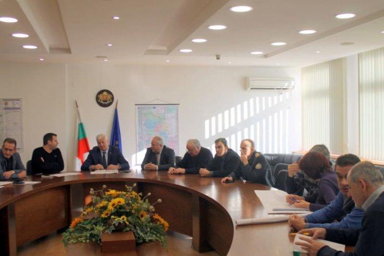 Поредна работна среща за пътя Пловдив - Асеновград и други пътни проекти в областта