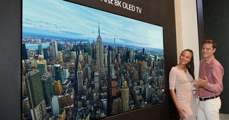 """LG представи 65"""" и 88"""" екрани с 8К резолюция и звучаща повърхност"""