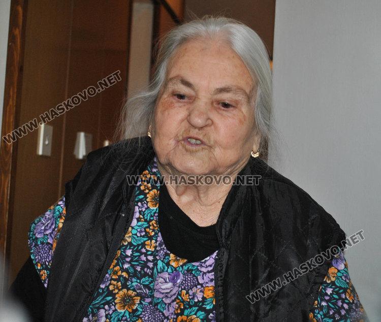 83-годишната Минка Монева