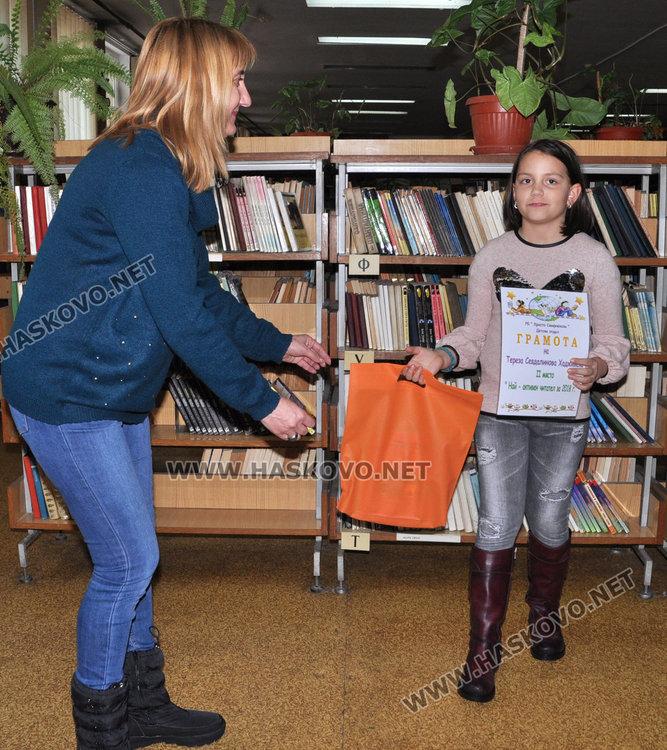 """Шестокласничка от """"Иван Рилски"""" прочете 98 книги през 2018-а"""