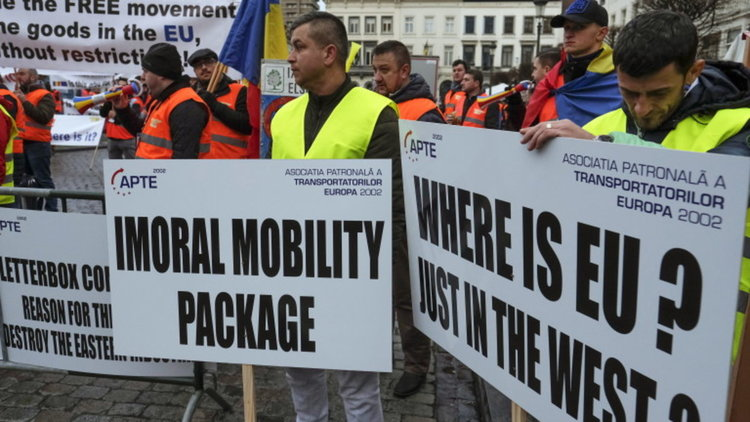 Желязков призова протестиращите в Брюксел превозвачи да изчакат
