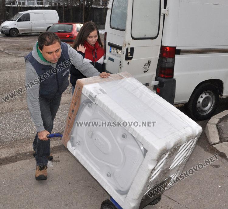 Дариха 4 нови перални и тангенторна вана на центъра за деца с увреждания