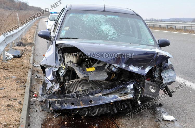 Двама полицаи ранени при катастрофа с кола на Съдебна охрана на магистралата