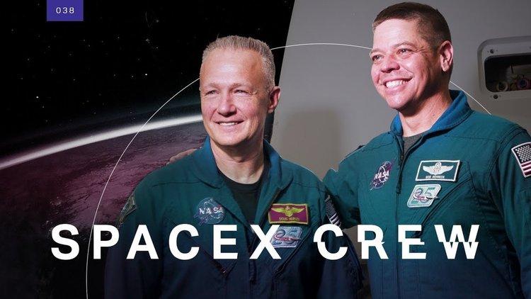 Първите двама астронавти на SpaceX (видео)