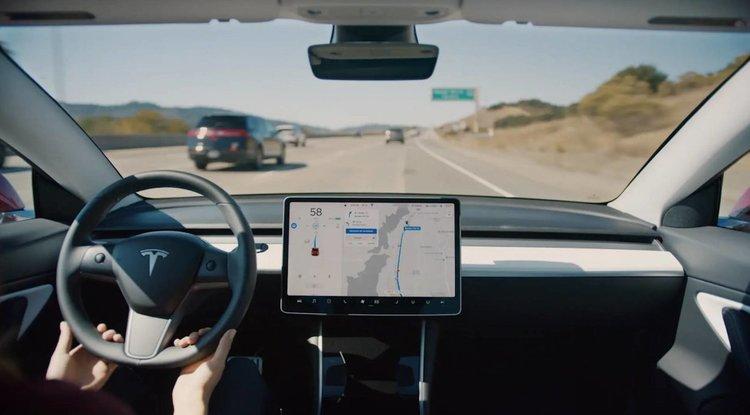 Колите на Tesla получават всевиждащо око