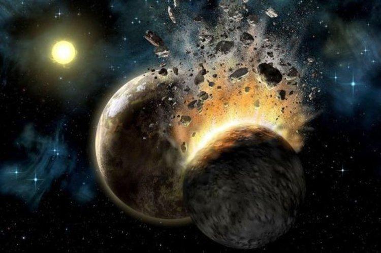 Животът на Земята може да е започнал поради епичен сблъсък с друга планета