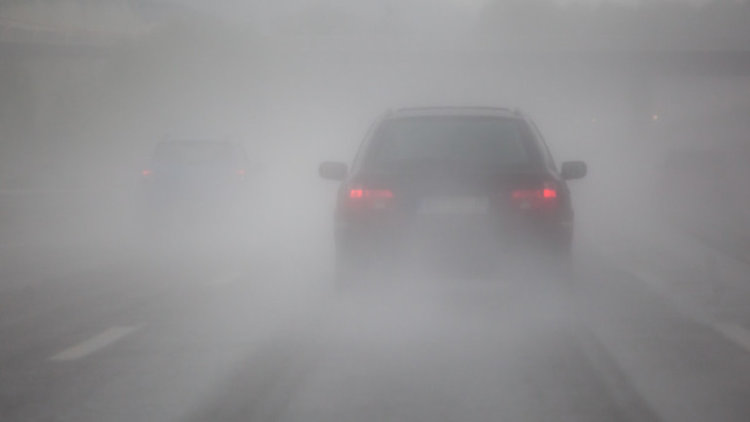 Гъста мъгла по Хемус в няколко области