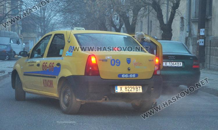 Читател: такси спря на зебра на кръстовище да остави пътничка в час пик